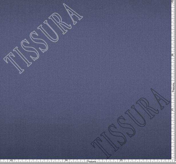 Итальянский атлас стрейч серо-голубого оттенка из шелка с добавлением эластана #2