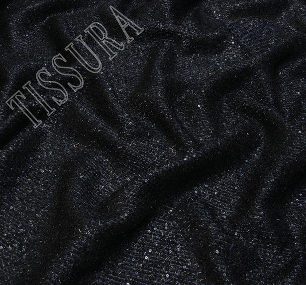 Ткань «Шанель» с пайетками #3