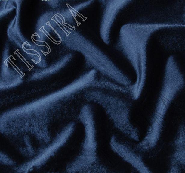 Роскошный бархат глубокого синего оттенка #1