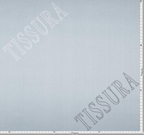 Итальянский атлас стрейч серого оттенка из шелка с добавлением эластана #2