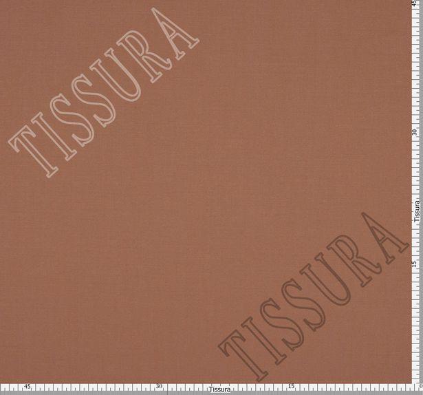 Шерстяная ткань коричневого цвета из высококачественной шерсти новозеландского мериноса #2