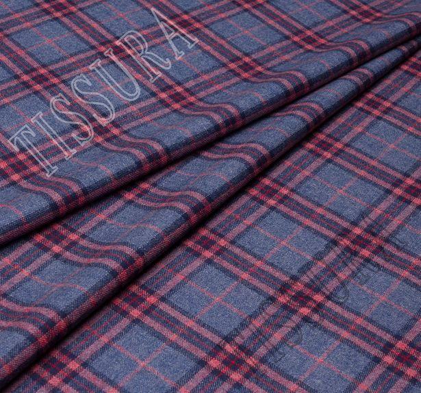 Мягкий и теплый твил из 100% шерсти. Дизайн – вариации на тему шотландской клетки (тартана) – классика #1
