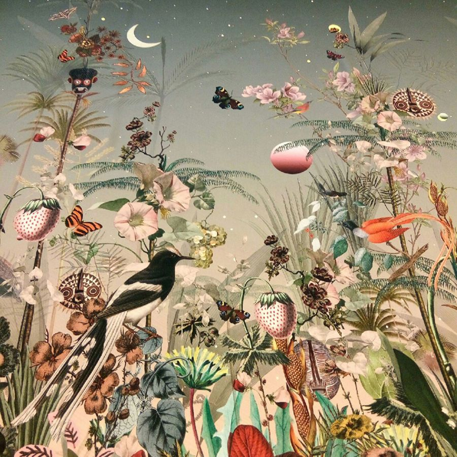 Земляника в лунном свете и другие фантастические картины от Jakob Schlaepfer