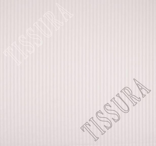Жаккард хлопковый нежно-розового оттенка в полоску #3