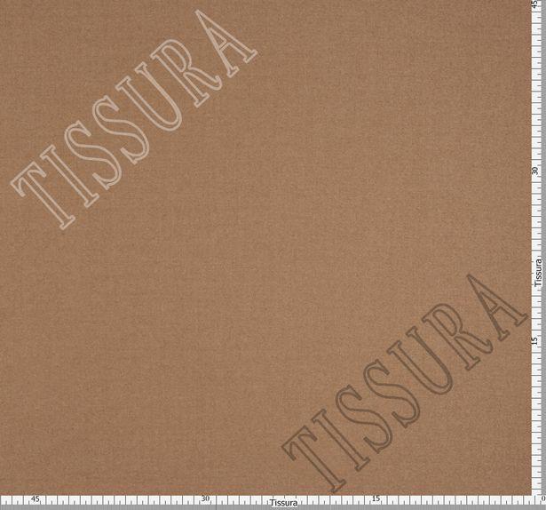 Костюмная ткань светло-коричневого оттенка из коллекции «Silk Air» #2