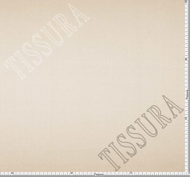 Итальянский атлас стрейч бежевого оттенка из шелка с добавлением эластана #2