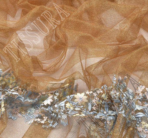 Сетка с вышивкой #1