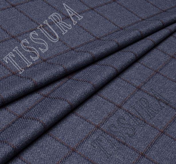 Костюмная ткань из шерсти с добавлением шелка #1
