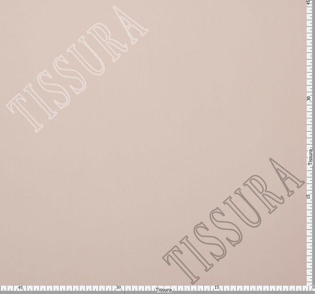 Итальянский жоржет бежево-пудрового оттенка из шелка с добавлением эластана #2