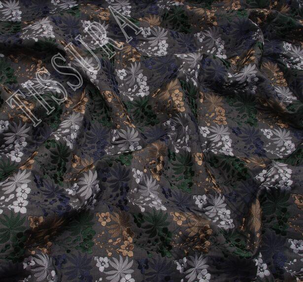 Шерсть с вышивкой #4