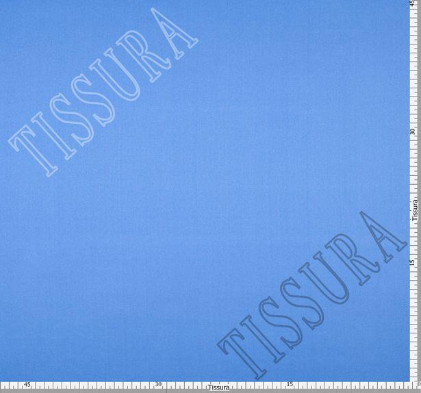 Итальянский атлас стрейч насыщенного голубого оттенка из шелка с добавлением эластана #2
