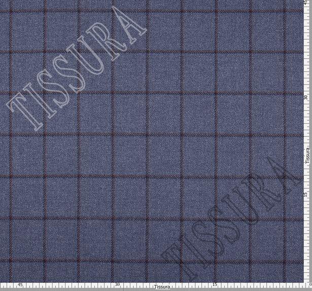 Костюмная ткань из шерсти с добавлением шелка #3