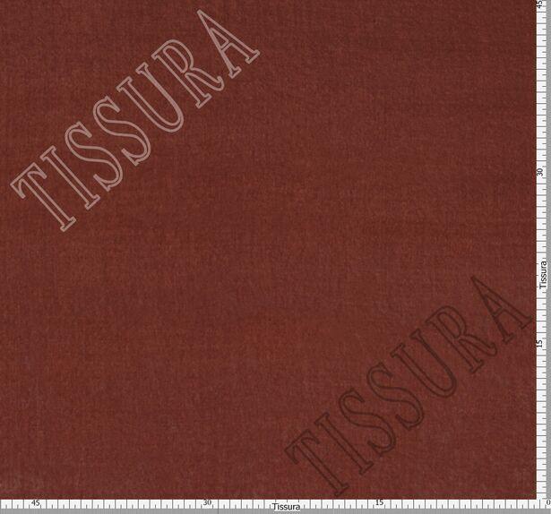 Итальянский бархат из вискозы и шелка цвета пыльной розы #2