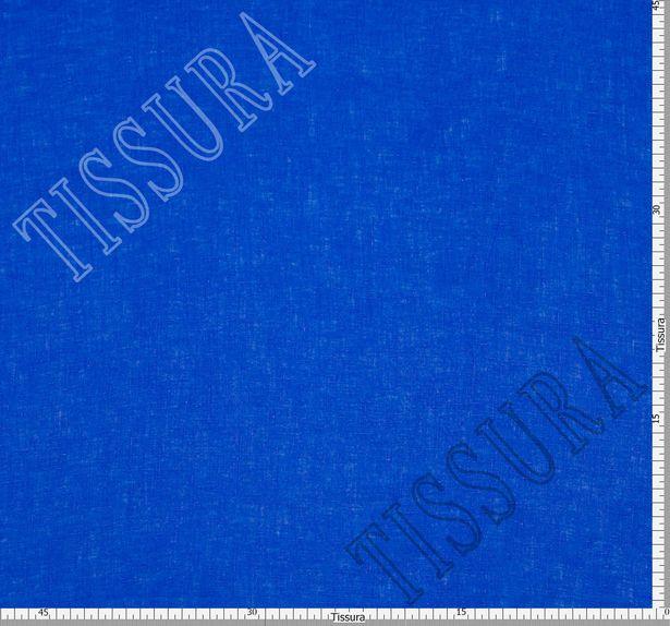 Лен, одна сторона ткани синего цвета, другая – бирюзового #2