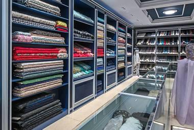 большой магазин ткани
