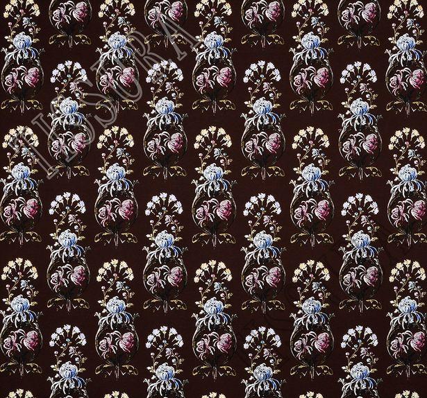Трикотаж с цветочным принтом #3