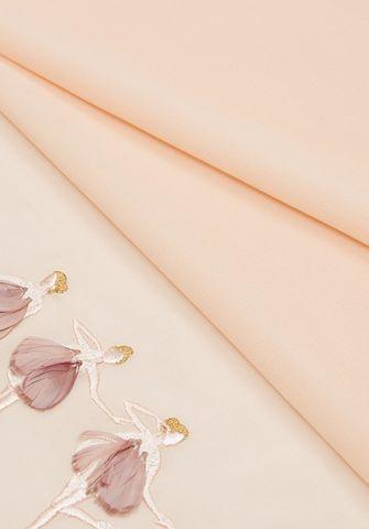 Жоржет шелковый с вышивкой