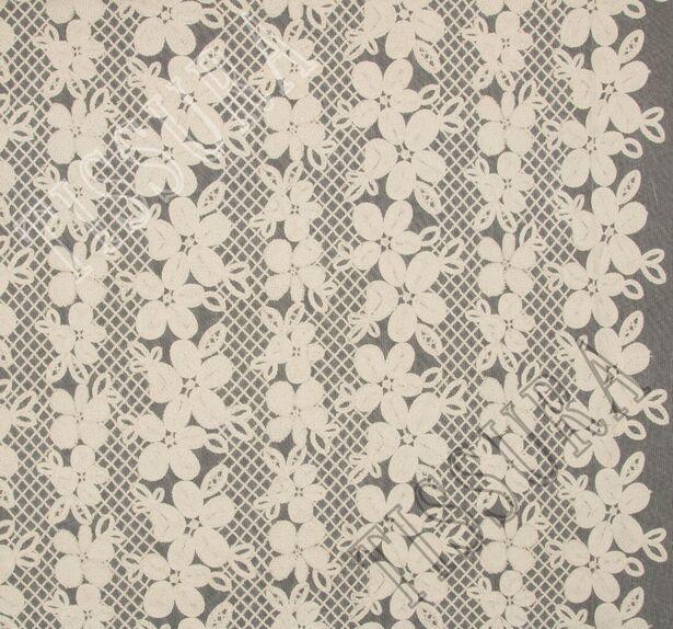 Сетка с вышивкой #3