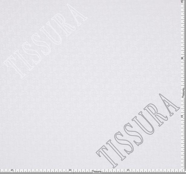 Жаккард хлопковый с узором из матовых букв #3