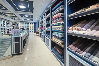 магазин ткани