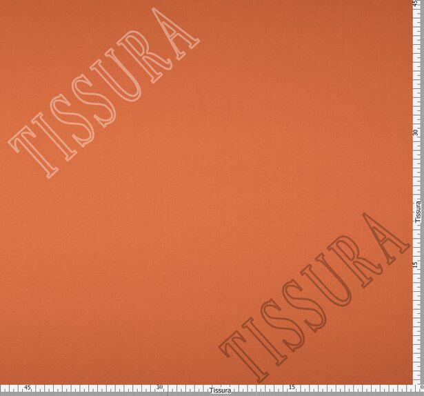 Шелковый атлас терракотового оттенка с глянцевым блеском #2