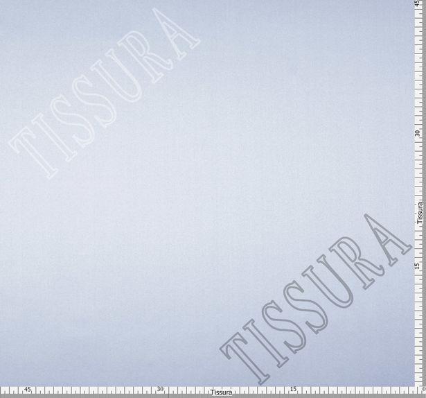 Итальянский атлас стрейч голубого оттенка из шелка с добавлением эластана #2