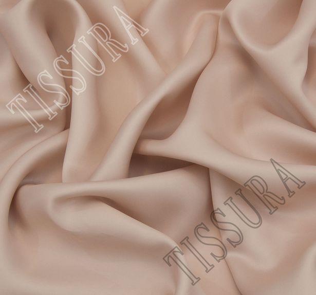 Подкладочная бежевая ткань для верхней одежды #1