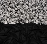 Ткань с вышивкой #4