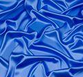 Итальянский атлас стрейч насыщенного голубого оттенка из шелка с добавлением эластана #1