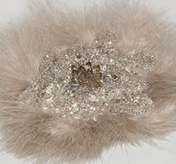 Нашивка с перьями марабу #3