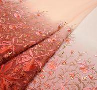 Органза с вышивкой #3