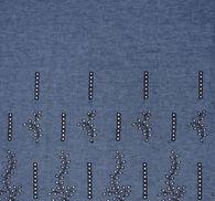 Лен с вышивкой #3