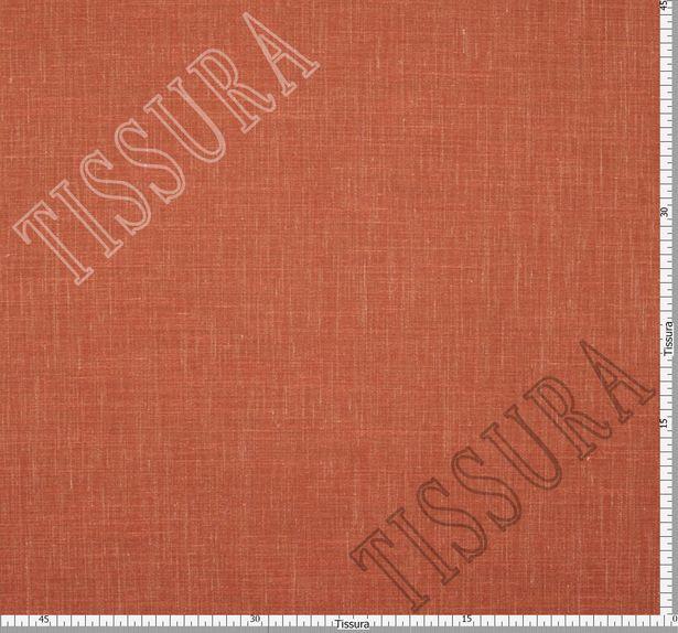 Двусторонняя шерсть из мериносовой шерсти, шелка и льна терракотового цвета #3