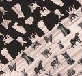 Двусторонний жаккард-ламе с изображением животных #1