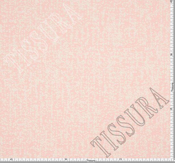 Жаккард-букле светло-розового цвета #2