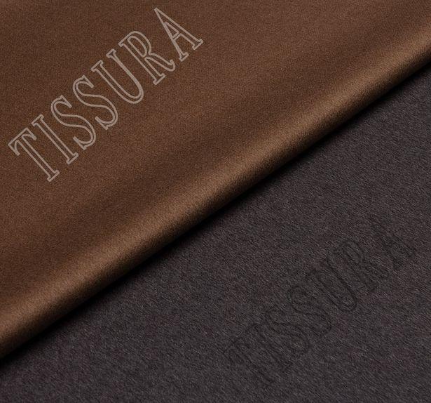 Пальтовая ткань двусторонняя из шерсти #1