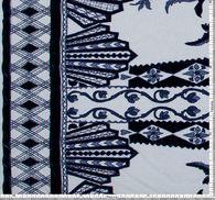 Сетка с вышивкой и бархатными вставками #2