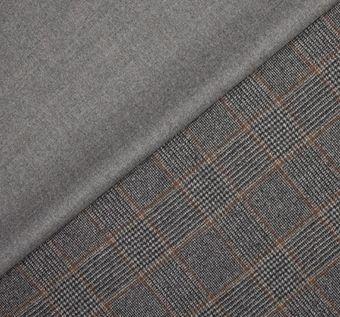 Пальтовая ткань двусторонняя #1