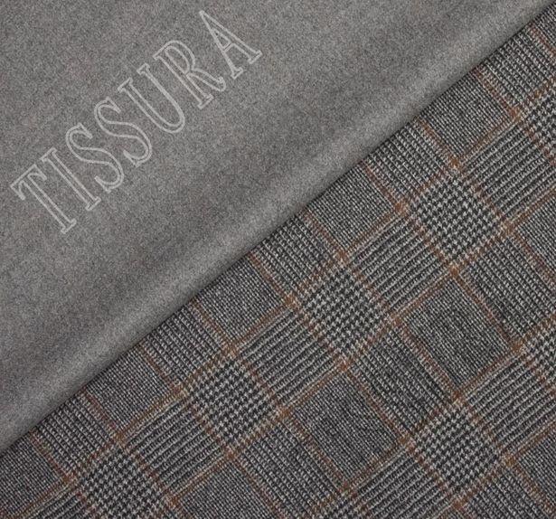Пальтовая ткань двусторонняя из шерсти мериносовых овец, выращенных в Новой Зеландии #1