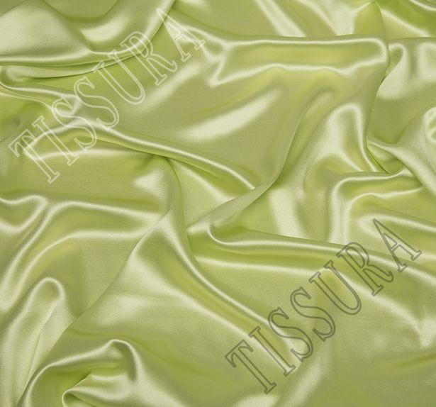 Атлас светло-зеленого цвета #1