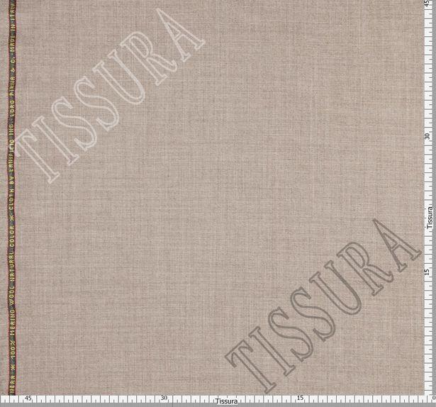 Костюмная ткань из шерсти 686002 Pecora Nera® серо-бежевая #2