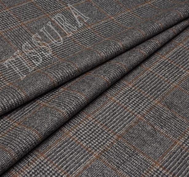 Пальтовая ткань двусторонняя из шерсти мериносовых овец, выращенных в Новой Зеландии #4