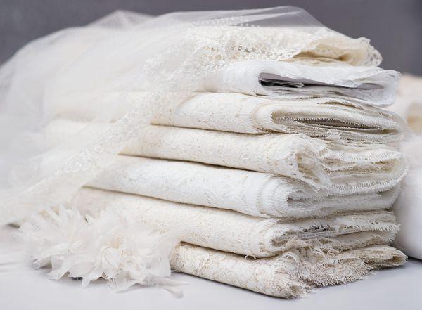 Свадебные ткани haute couture