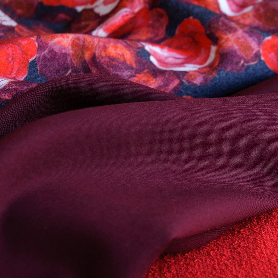 Ткани цвета марсала