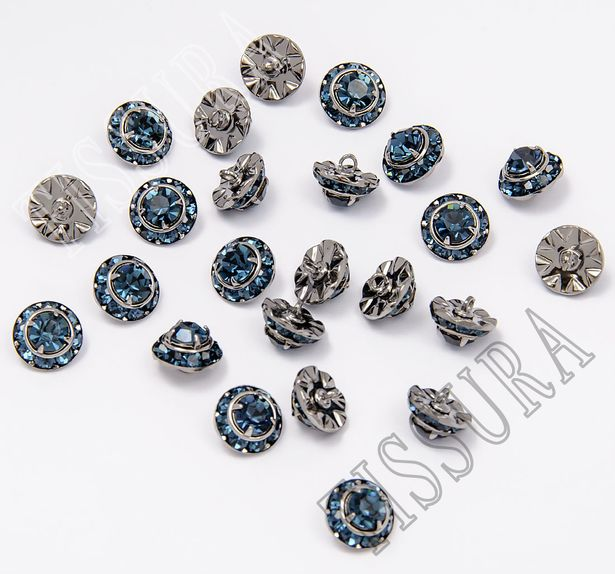 Пуговица с кристаллами Swarovski #3