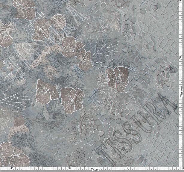 Жаккард-клоке с цветочным рисунком #2