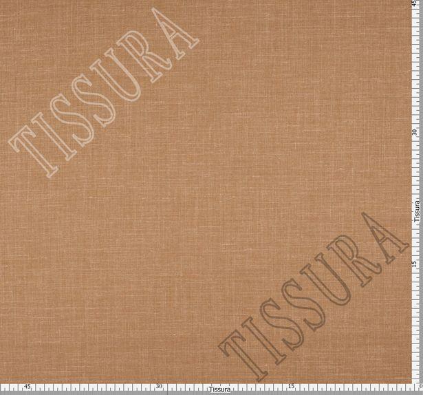 Шерсть из мериносовой шерсти, шелка и льна: цвет – светло-коричневый #2