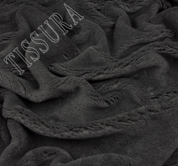 Мех «Zelander» серый из новозеландской шерсти и шелка #4