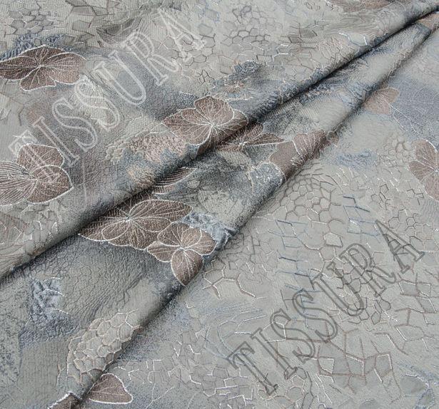Жаккард-клоке с цветочным рисунком #1