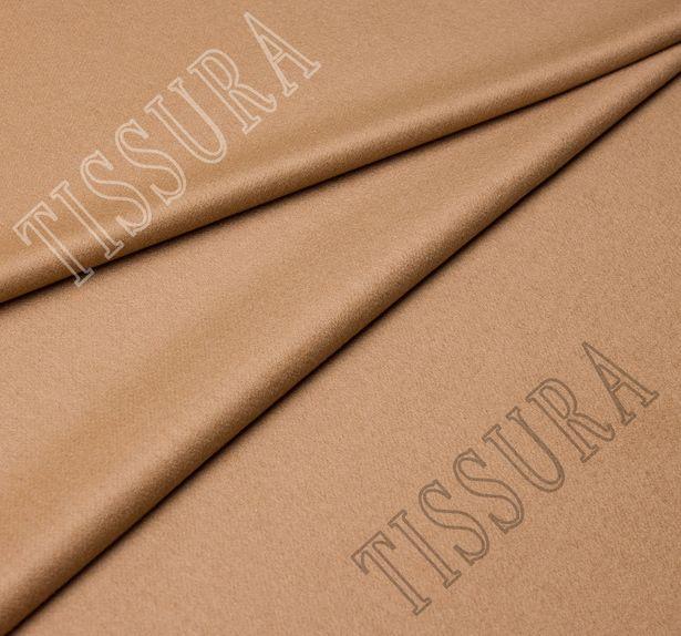 Пальтовая ткань из коллекции «BACTRIAN» (Бактриан) из 100% шерсти верблюжат. Цвет – светло-коричневый #1